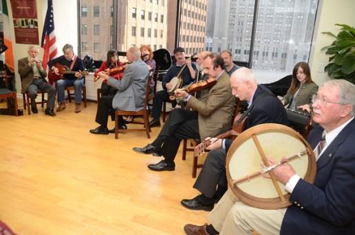 Trad music session NY