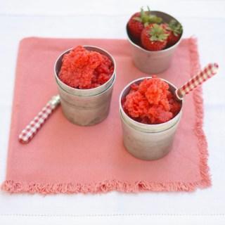 Fresh Strawberry Granita 3