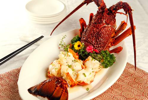 Imperial Treasure - Baked Lobster with Supreme Gravy
