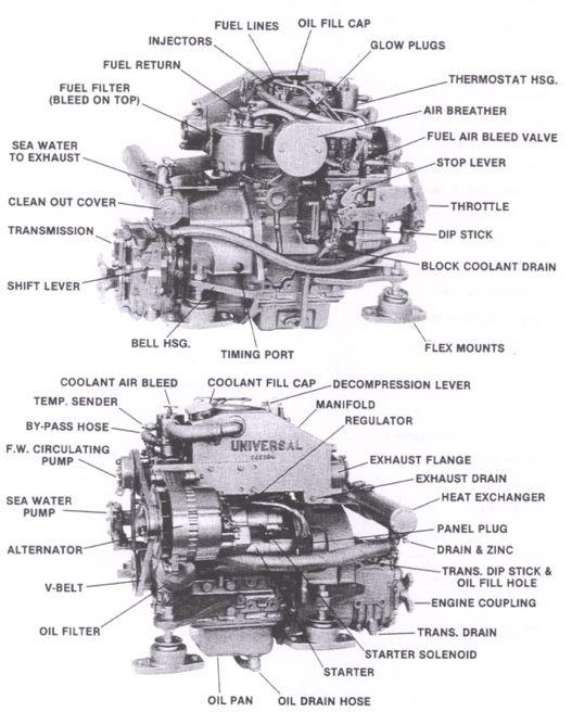 diesel fuel filters marine