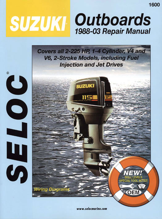Suzuki Outboard Repair Manuals - Suzuki Outboard Motor Owners Manuals