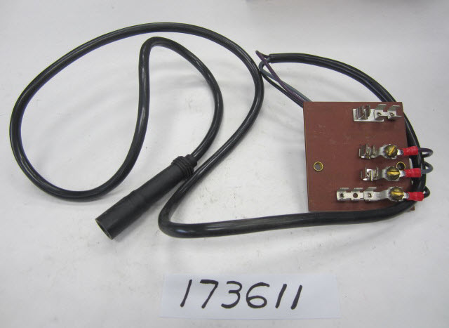 Wiring Kit - Instrument Fuse Block Electrical 1984 Accessories for