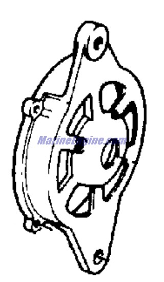 OMC Stern Drive Alternator - Prestolite Model Alk-6222,alk-6222y 120