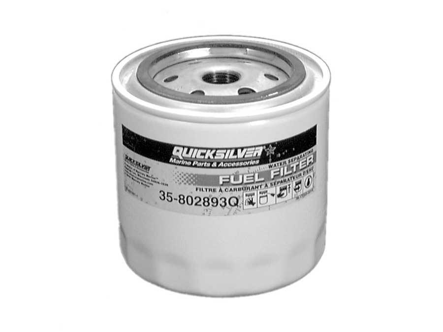 MerCruiser Black Scorpion 350 Mag MPI Fuel Filter  Boost Pump Parts
