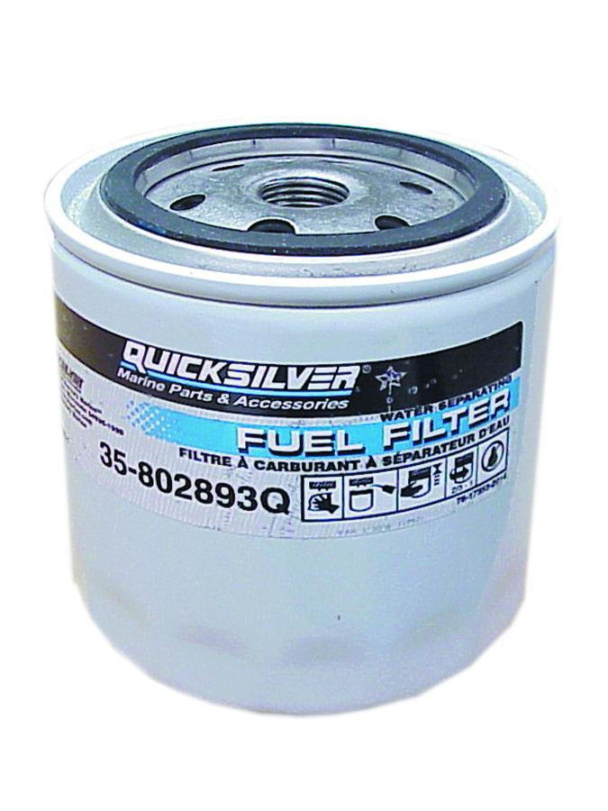 Mercury Quicksilver 35-802893Q01 - Fuel Filter - Priced Individually
