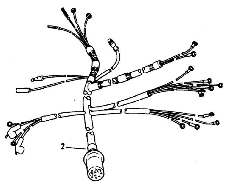 marine engine wiring harness for mercruiser 140
