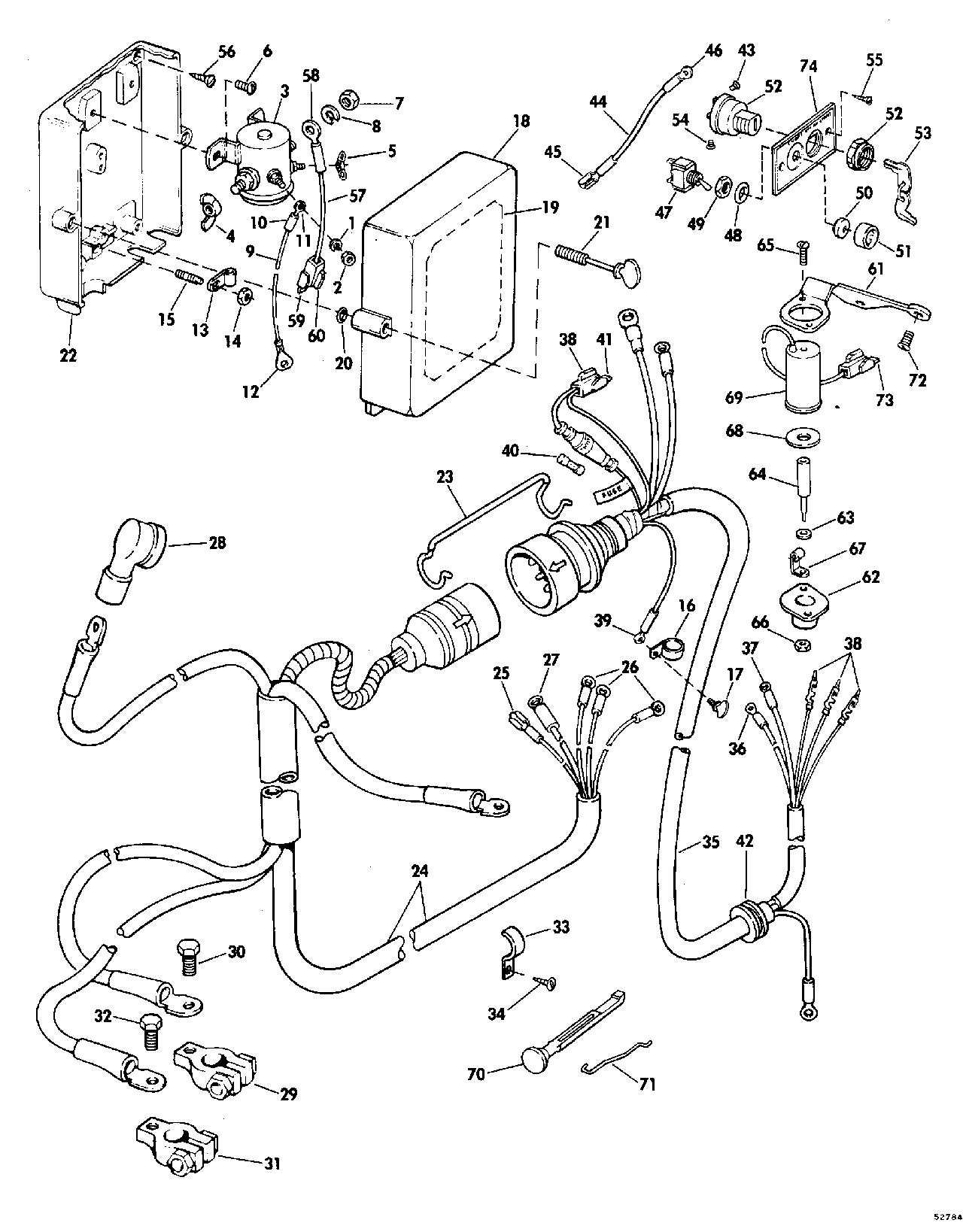 1976 70 hp johnson wiring diagram