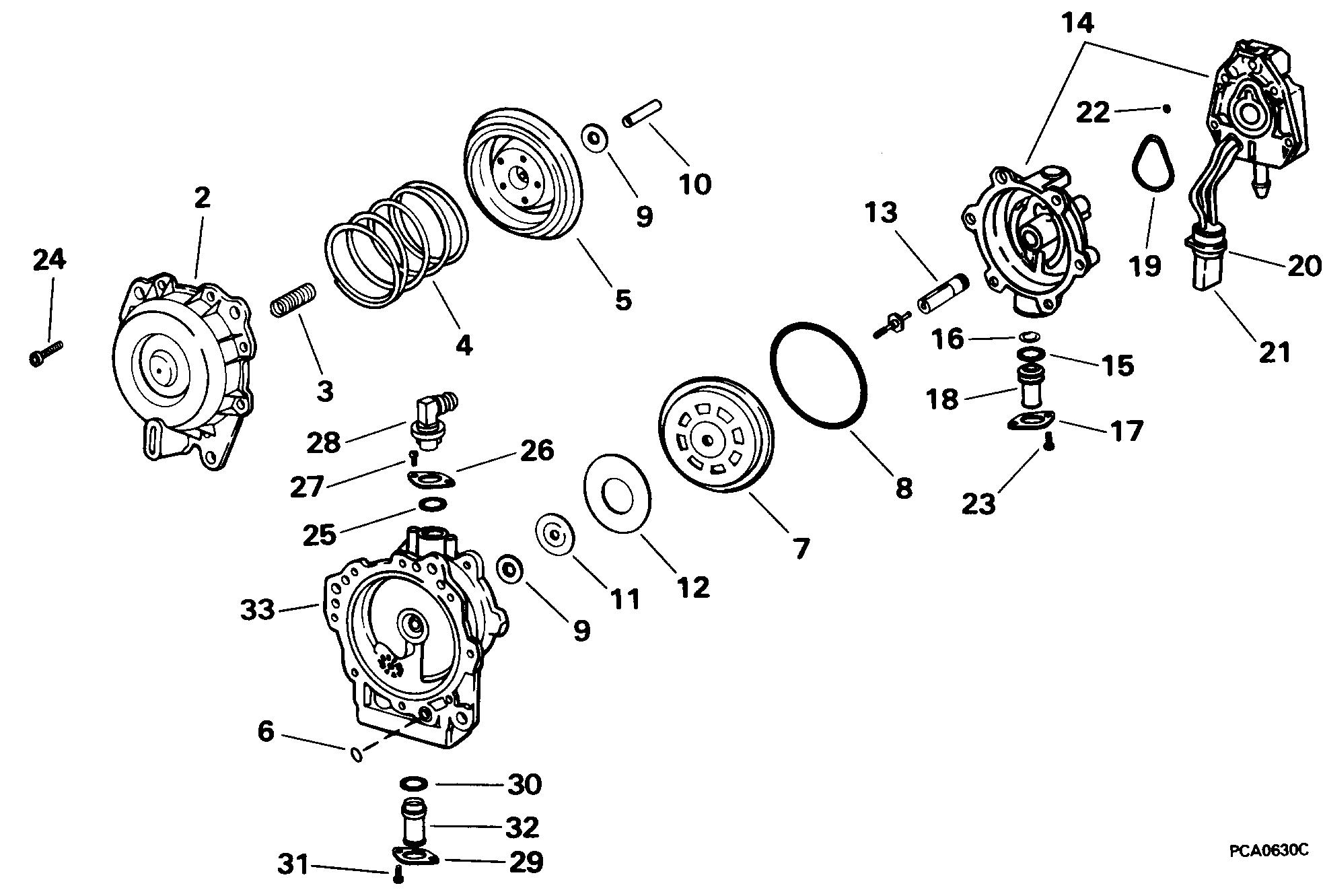 johnson vro pump wiring diagram