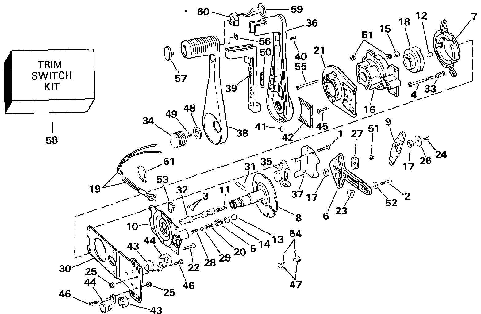 omc shifter wiring diagram