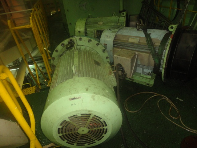 Construction and Working of 3 Phase Induction Motor on Ship