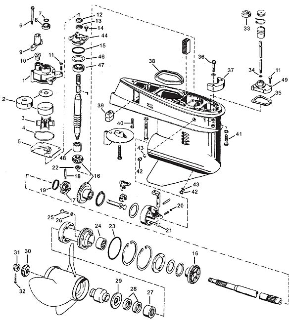 1987 EVINRUDE 28 HP IGNITION WIRING DIAGRAM - Auto Electrical Wiring