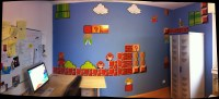 mario wall decals | Roselawnlutheran
