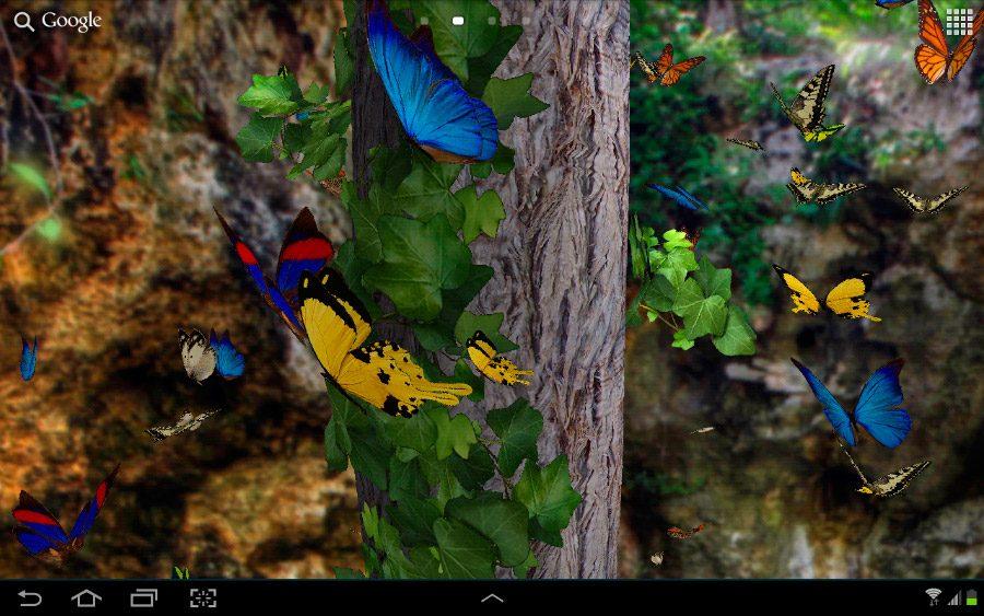 3d Fish Live Wallpaper For Android Galer 237 A De Im 225 Genes Fondos De Mariposas Para Smartphones