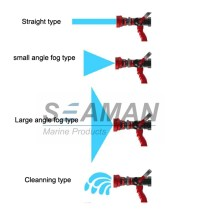 Automatic 4 Position High Pressure Fire Hose Nozzles Fire ...