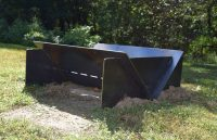 Custom Metal Fabrication: Carbon Steel Fire Pit  Mark Metals