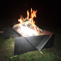 Custom Metal Fabrication: Carbon Steel Fire Pit