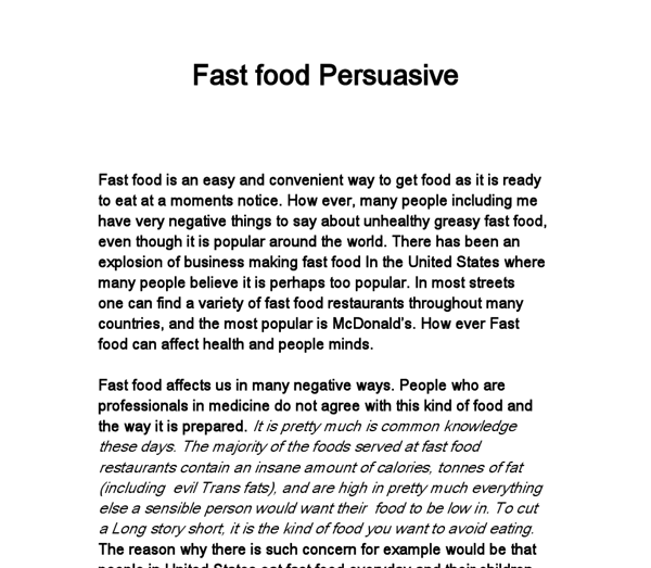 Samples Of Persuasive Essays For High School Students College High