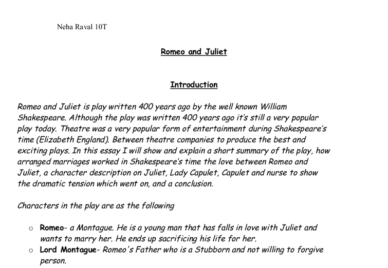 resume of the book romeo and juliet professional resumes example