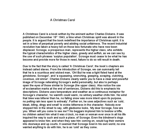 christmas carol thesis statement A christmas carol by: charles dickens summary  since you can't really write your thesis statement until you know how you'll structure your argument, you'll.