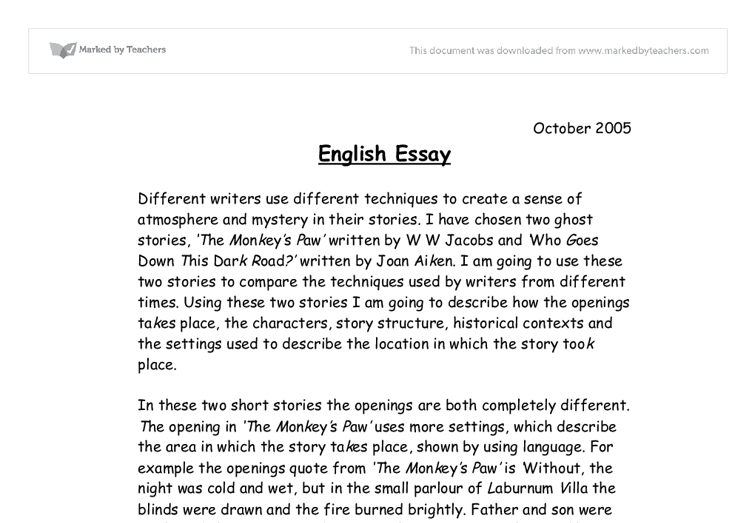 Most Essays Focus On Best English Essays Sample Memoir Essay also Volunteerism Essay Best English Essays  Fieldstationco What Is The Thesis Statement In The Essay