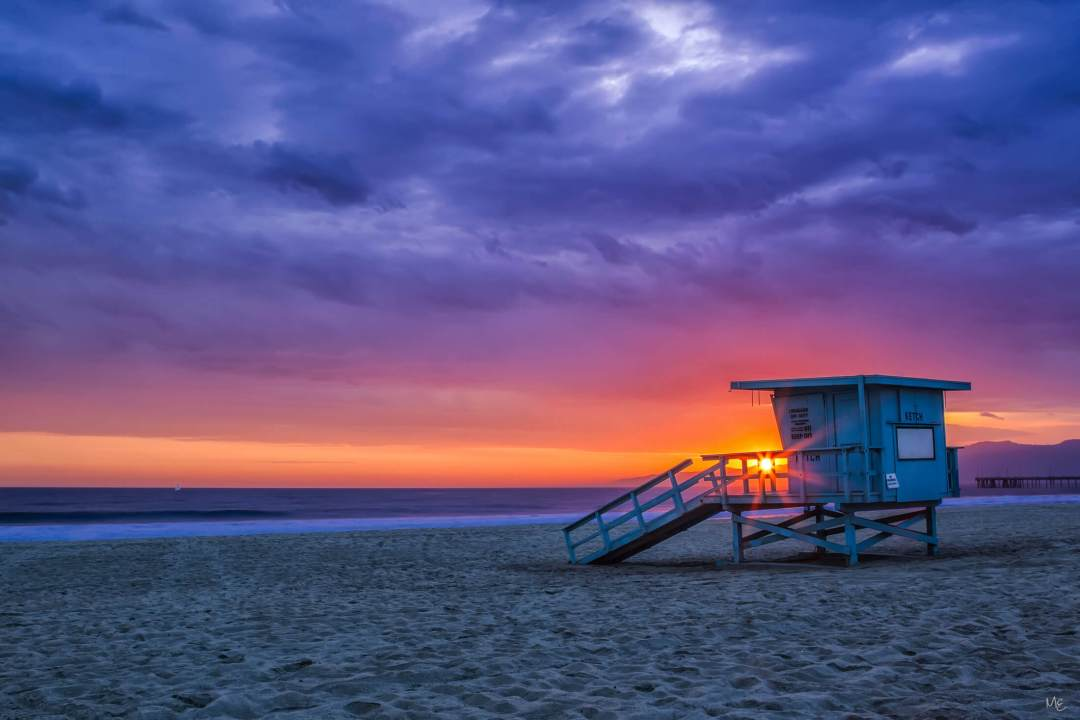 Marina del Rey Lifeguard Tower