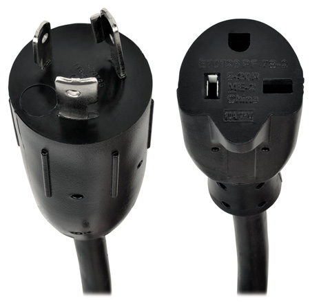 Tripp Lite P046-06N 6 Inch Power Cord Adapter 12AWG 20A 100