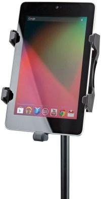K&M 19742 Universal Tablet Holder - Mic Stand Mount