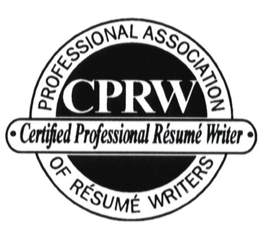Certified Professional Resume Writer, reputable resume writing
