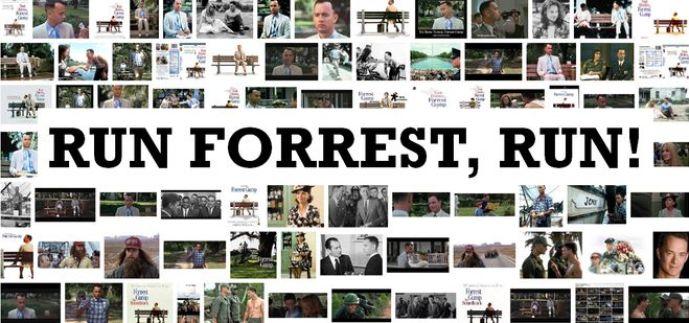 Corre Forrest - MagaZinema