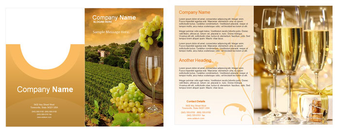 Free Brochure Templates and Brochure Samples