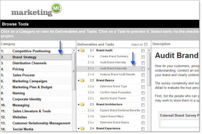Evaluating Marketing MO During Your Free Trial Marketing MO - A