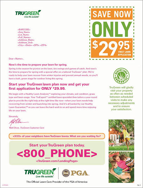 B2C Marketing Lawn care company saves more than $800,000 in direct