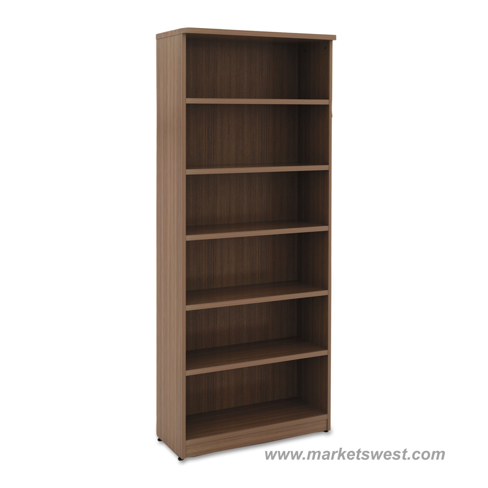 Alera 6 Shelf Laminate Bookcase