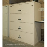 4-Drawer Legal Size FIREPROOF LATERAL FILE Cabinets- Pre ...