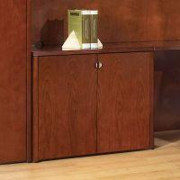 2-Door Storage Cabinet 37x20 Mahogany or Light Cherry