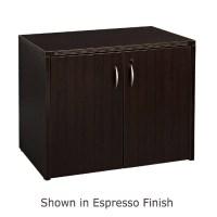 2-Door Storage Cabinet 36X22, Espresso