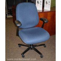 Herman Miller Ergon Blue Fabric Mid Back Task Chair - Used