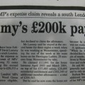 David Lammy second home expenses cliam