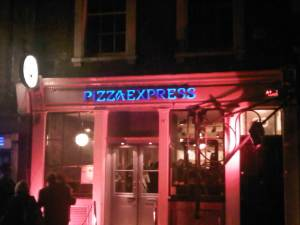 Pizza Express, Greek Street