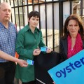 Caroline Pidgeon, Lynne Featherstone, Martin Newton and Oyster cards