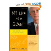 My Life As A Quant - book cover