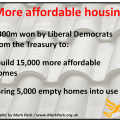 Housing: £300m for affordable homes