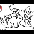 Another naughty cat episode: Flower Bed - Simon's Cat thumbnail