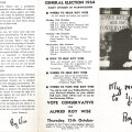 Roy Wise election leaflet side 1