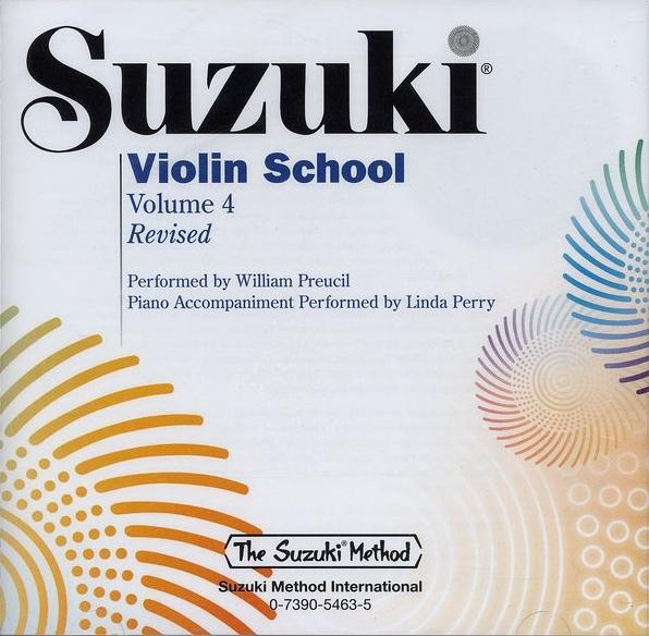 Suzuki Violin Pieces in their Original Forms \u2014 Volume 4