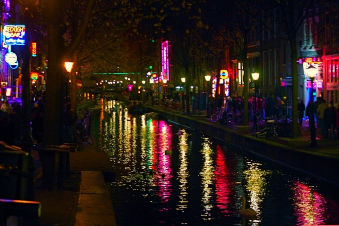 short story red light district amsterdam