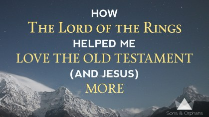 Lord of Rings Jesus Old Testament