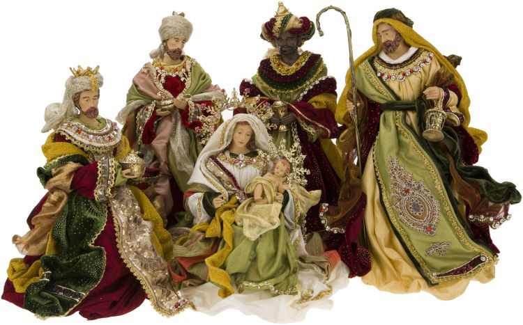 Florentine Nativity Scene Set Of 5 18 Inches Mark