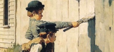 rockwell-cropped-fence-painting-scene