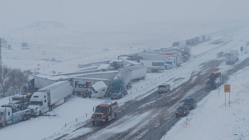 Spring Snowstorm Causes Headaches On Wyoming, Colorado Interstates, Severe Weather, Flooding Further East!